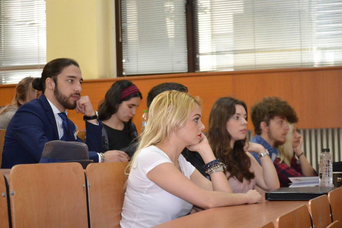 Conferința studențească - Facultatea de Științe Politice, Filosofie și Comunicare, UVT